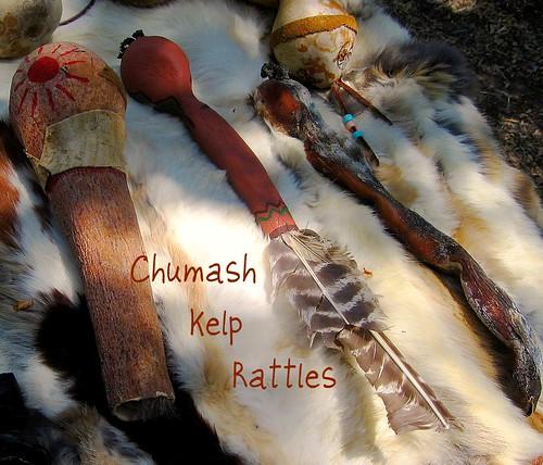 Dana Adobe Chumash Kelp Rattles