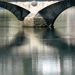 Puente-Bridge (acativa) Tags: bridge espaa ro reflections puente spain galicia pontevedra reflejos supershot lrez mywinners platinumphoto flickrdiamond theunforgettablepictures vanagram artofimages bestcapturesaoi magicunicornverybest magicunicornmasterpiece