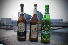 DIe dreisten Drei (slr_marco) Tags: berlin beer germany deutschland hauptbahnhof marco bier warsteiner berlinerpilsner calrsberg brcker slrmarco