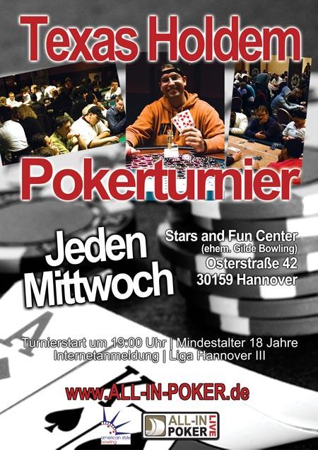 Poker im Gilde Bowling