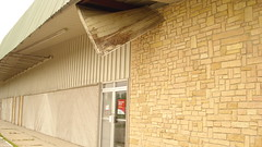 Chaska Building Center - Roof falling apart on South side of building