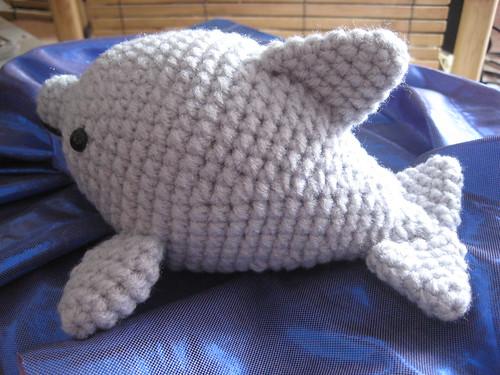 How to crochet a Dolphin Amigurumi | World Of Amigurumi - YouTube | 375x500