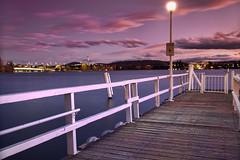 A slightly better lake shot (Sam Ilić) Tags: light sunset sky sun lake color water clouds canon lights australia canberra griffin dri burley lakeburleygriffin photomatix canberrasunset 5dmarkii canon24105mm4