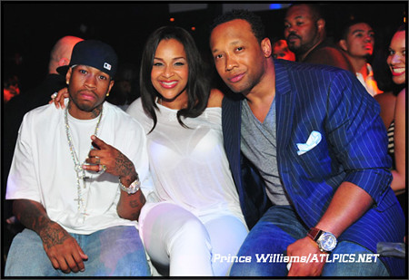 IVERSON LISA RAYE & STACEY DASH LAMPING AT SOME CLUB