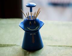 Smiling toothpick case! (marco_gandolfo) Tags: life roma still nikon funny case toothpick pupazzo stuzzicadenti d3000