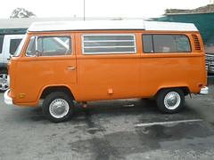 VW T2 Westfalia Camper Van (1973)