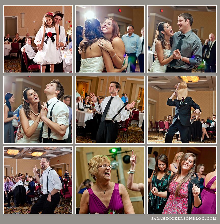 Marriott Country Club Plaza wedding reception photography