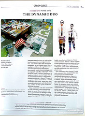 Adrian+Shane in Print magazine (Adrian+Shane) Tags: street new ireland portrait dublin irish selfportrait streetart colour art modern magazine studio print graffiti design photo stencil artist dynamic graphic shane contemporary duo text paintings exhibition canvas photograph american artists article page mysterious adrian stencilart mag exciting drogheda twosome visualartists artiststudio 2011 artanddesign printmagazine artduo adrianshane adrianandshane