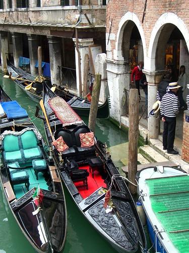 Venice Gondola by Danalynn C