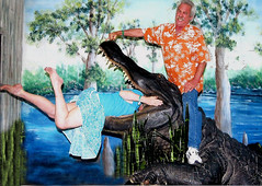 Florida wild life...danger. (Sugarbarre2) Tags: wife woman mom girl man boy upskirt water tree green plants brown fun party people nature cute short skirt hot high arches blue sky orange tropical photo beautiful toes paint usa nikon cool food show s granny me suck lick