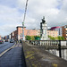 The Limerick 1916 Memorial On Sarsfield Bridge (Ireland)