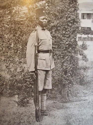!º Cabo Landim - 10ª Companhia Indígena - Moçambique