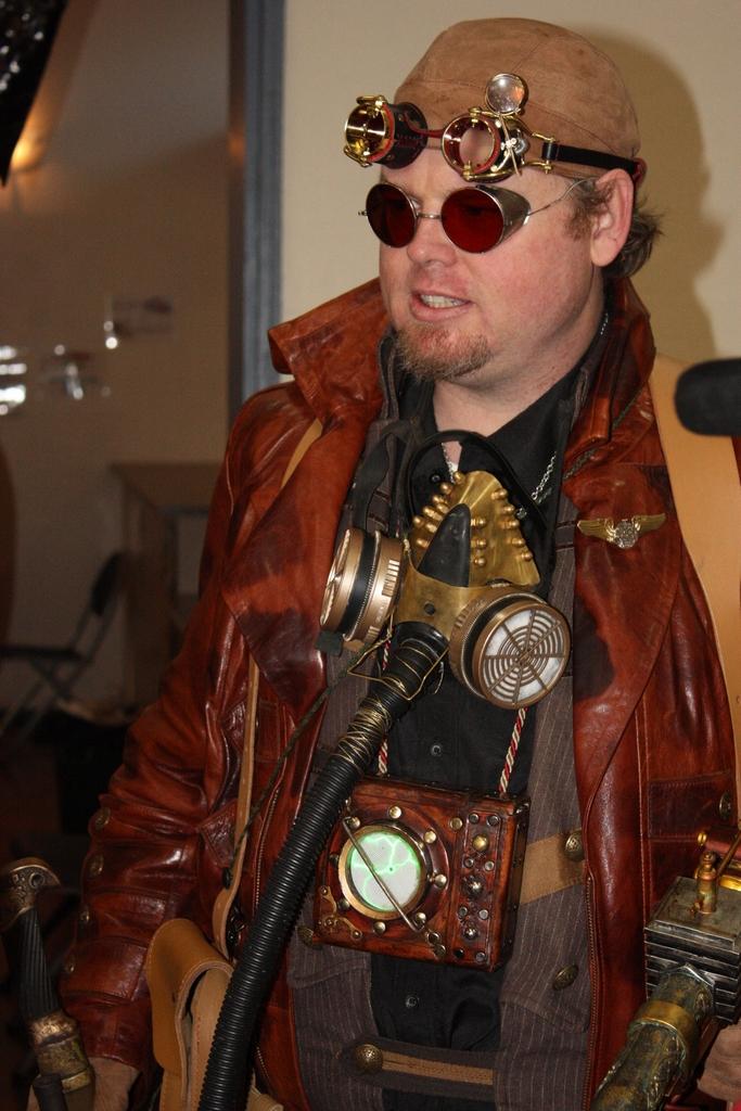 steampunk fashion ironfest 2011