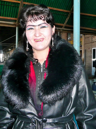 Tajik Girl in Urgut Bazaar