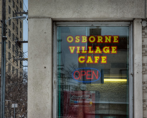 Mcmillan Student Village. Osborne Village Cafe
