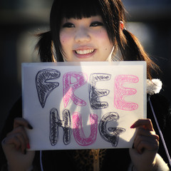 a hug is all what we need (ajpscs) Tags: street face japan photography japanese tokyo interestingness nikon affection squeeze explore harajuku  someone nippon  express hold cling controversial d300  phenomenal cherish freehug  ajpscs freehugscampaign abrazosgratis juanmann abbraccigratis gratiskramar reallifestory hugastranger solemission spiritofhumanity passthistoafriendandhugastranger bezplatnipregrudki  gratisemarmung pelukanpercuma gratisklemmergratiskoser darmoweprzytulanie  objatiezadarmo gratisknuddelgratisumarmung brasagratis onesarms gratisknuffel abracosgratis ingyenoleles