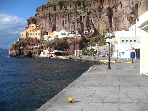 The Old Port of Fira Skala