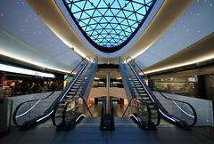 symmetry (Toni_V) Tags: architecture schweiz switzerland bravo europe suisse zurich escalator perspective 2009 d300 sigma1020mm sihlcity toniv reflectyourworld