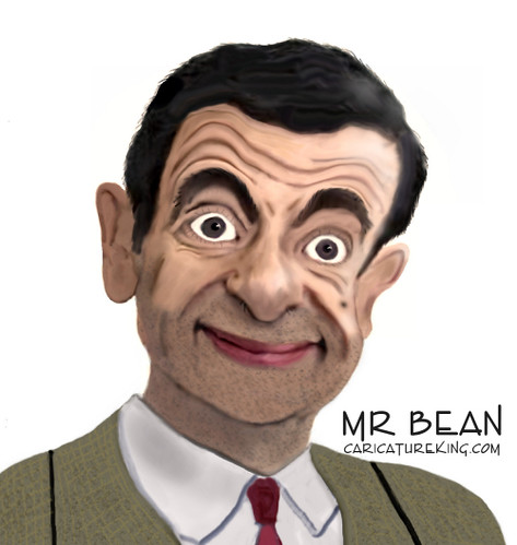 Caricature of Mr Bean!