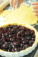 Making Cherry Pie