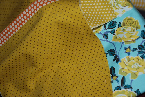 Matching fabrics for quilts by you.