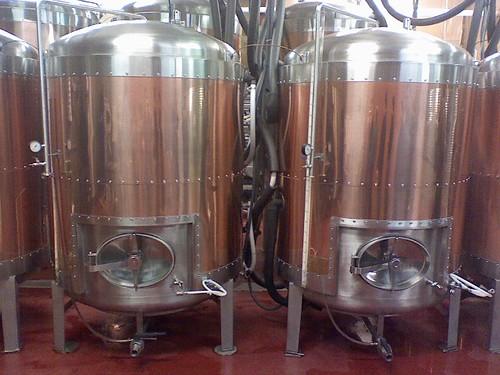 Lone Rider beer tanks