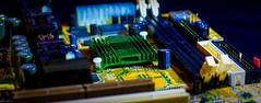 Heat sink (SaltGeorge) Tags: green canon component motherboard circuit hdr circuitboard lightroom heatsink 50mm18 fdrtools eos40d 255100