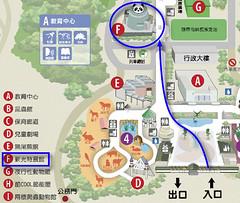 貓熊館地圖