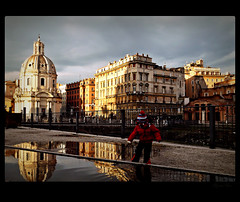 quanto sei bella Roma! - how much you are beautiful Rome! - a Sunday in the city (Ev@ ;-)) Tags: people italy rome