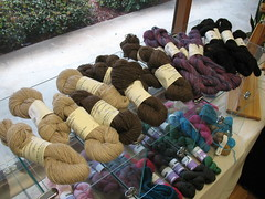 WoodsEdge Wools Farm yarn