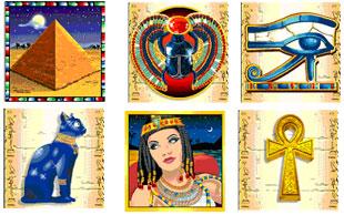 cleopatra's gold symbols