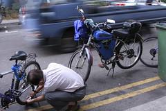 Bicycles at Jalan Besar