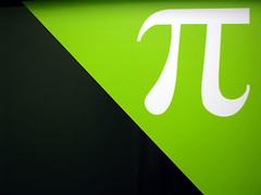 The Sign of π