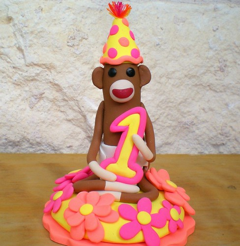 1st birthday cake toppers ideas