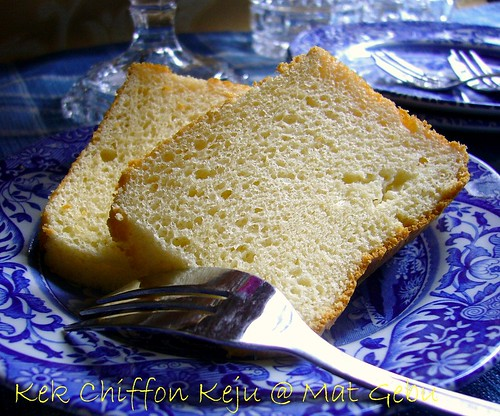 Kek Chiffon Keju