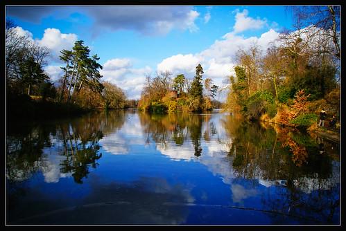 Bois de Boulogne in February 4
