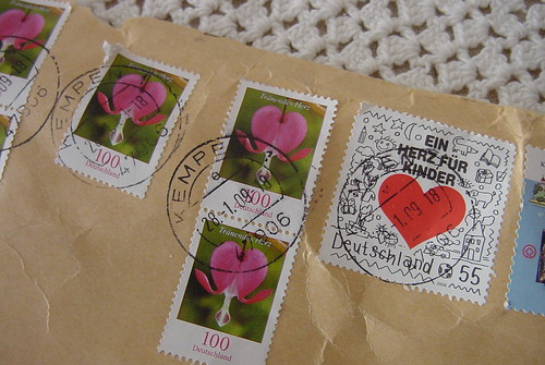 Bleeding Heart Stamps