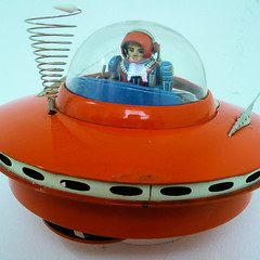 Spaceship - 1960s Japanese toy