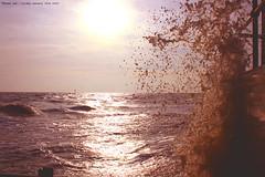 Making a Splash...... (law_keven) Tags: ocean sea england wet water waves atlantic splash essex atlanticocean clacton seawater explore500 makingwaves golddragon abigfave anawesomeshot infinestyle theunforgettablepictures clactonbeach goldstaraward