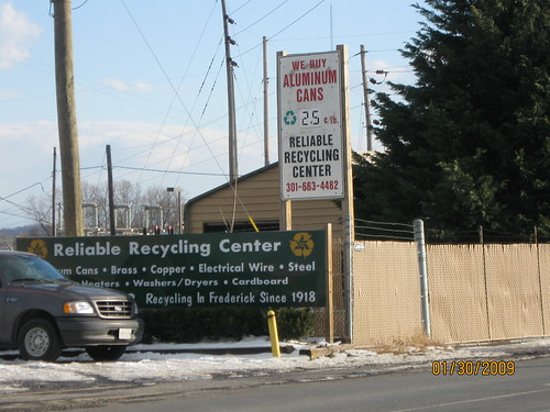 Aluminum Scrap Price posted Frederick Maryland