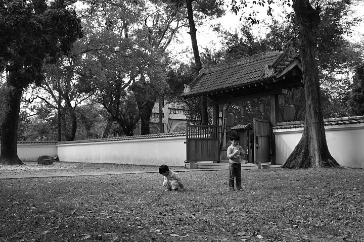 嘉義市史蹟資料館(黑白)26