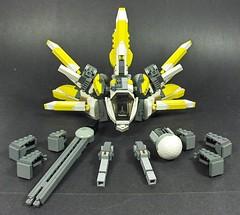 MX-01 Firefli (Tekka Croe) Tags: firefly starfighter