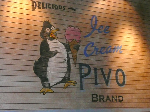 Fat Ice Cream Penguin by LauraMoncur from Flickr