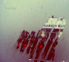 My heart has become clearer. (ShanLuPhoto) Tags: winter bus love ice window water gloomy heart harbin 心 爱 哈尔滨 窗户 loolooimage