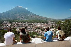 I wish you were sitting here (Rudy A. Girn) Tags: streets guatemala tourists antigua birdseyeview turistas antiguaguatemala cerrodelacruz vistadepajaro rudygiron watervolcano laantiguaguatemala lagdp laantiguaguatemaladailyphoto volcandeagua rudygiron antiguafromabove lagdpcard200906 elchiltepe elchiltepeslide