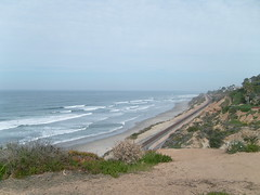 Overlook near Del Mar, California