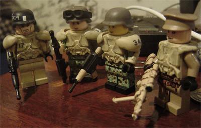 2nd Battalion, 34th Dragoons, Fireteam Echo