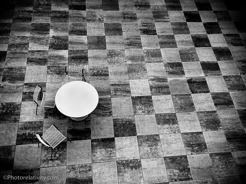 Circle On Squares