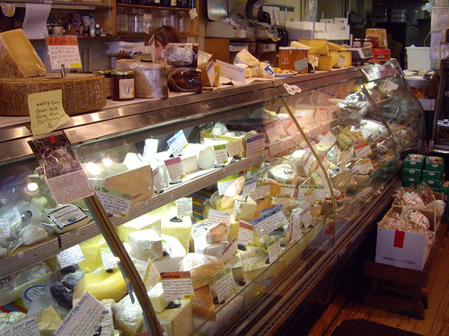 Cheeses at Katzinger's