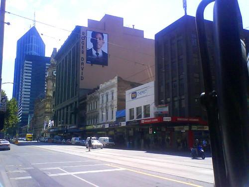 Elizabeth Street billboard
